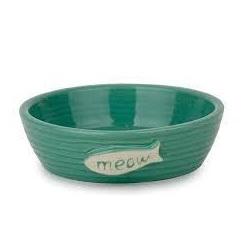 Cattitude Pottery Bowl - Meow