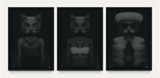 Catwalk - Triptych