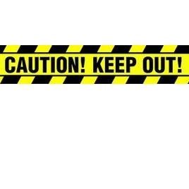 Caution tape  7cm x 6m