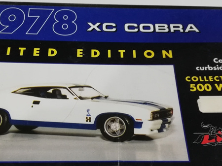 Cavalier 1/25 1978 XC Cobra Ltd Edition Resin Kit