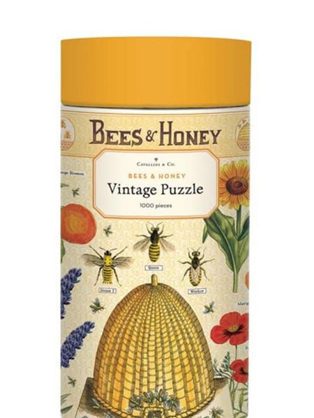 Cavallini 1000 Piece Puzzle - Bees & Honey