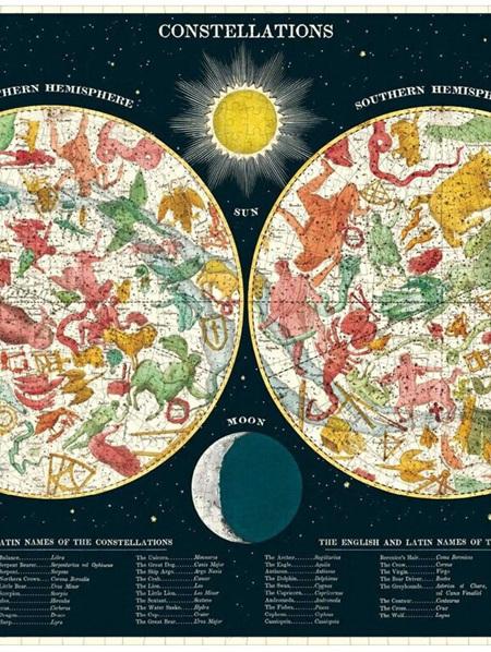 Cavallini 1000 Piece Puzzle - Constellations