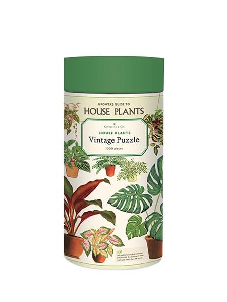 Cavallini 1000 Piece Puzzle - House Plants