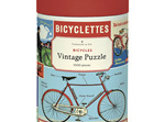 Cavallini & Co 1000 Piece Jigsaw Puzzle: Vintage Poster -  Bicycles
