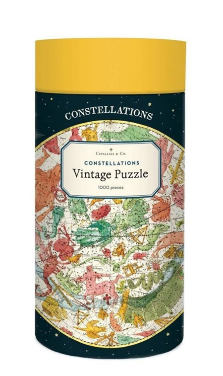 Cavallini & Co  1000 Piece Jigsaw Puzzle: Vintage Poster Constellations