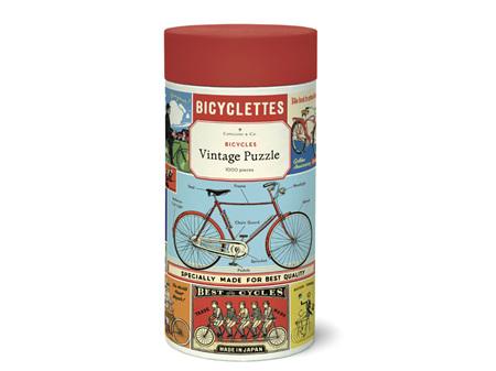 Cavallini & Co. Bicycles 1000 Piece Puzzle