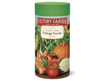 Cavallini & Co. 1000 Piece Puzzle Victory Garden