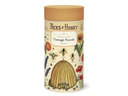 Cavallini & Co. Bees & Honey 1000 Piece Vintage Puzzle