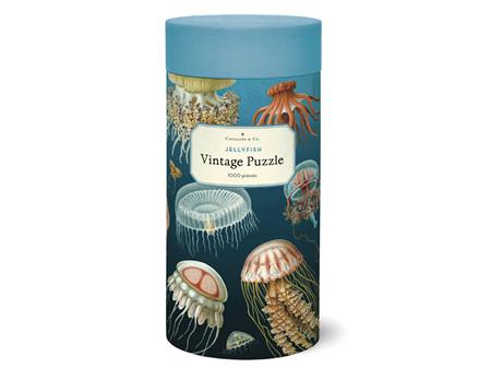 Cavallini & Co. Jellyfish 1000 Piece Vintage Puzzle