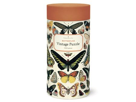 Cavallini & Co. Butterflies 1000 Piece Vintage Puzzle