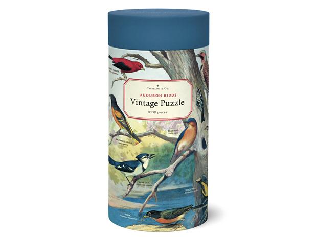 Cavallini & Co. Audubon Birds 1000 Piece Vintage Puzzle