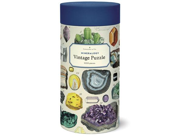 Cavallini & Co. Mineralogy 1000 Piece Vintage Puzzle