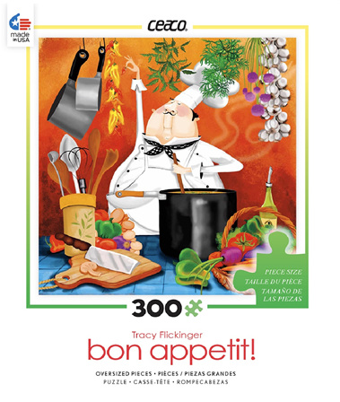 Bon Appetit - Chef in Kitchen