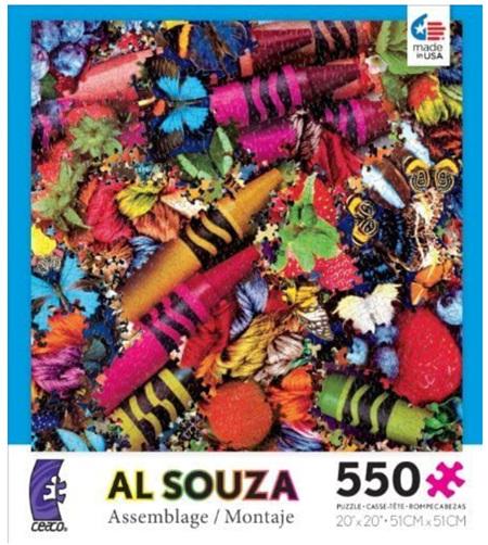 Ceaco 550 Piece Jigsaw Puzzle: Al Souza Montage (2303-01)