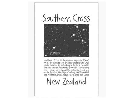 Cecily Southern Cross Tea Towel