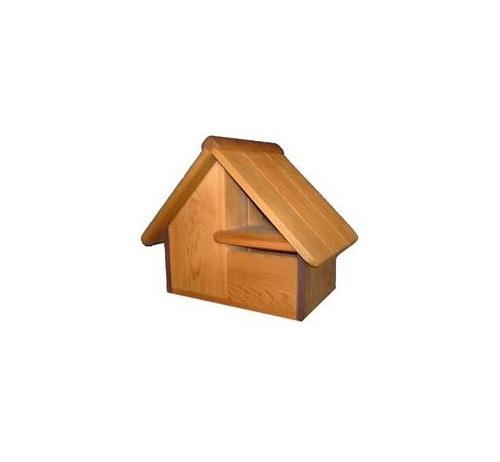 Cedar Wood Full Front Letterbox