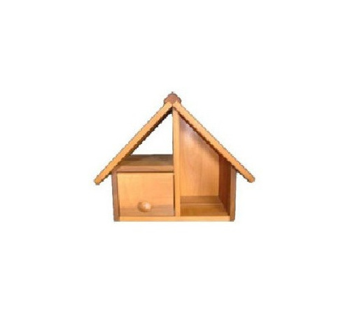 Cedar Wood Full Front Letterbox