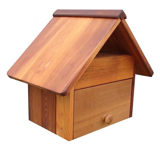 Cedar Wood Prestige Letterbox