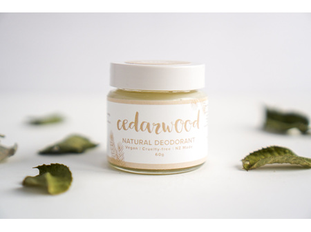 Cedarwood Natural Deodorant