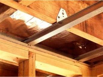 Ceilings - Metal battens