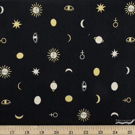 Celestial Charms Black Metallic 90223M-99