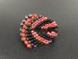 Cellini Spiral - Red & Black