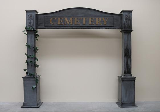 cemetery arch hire