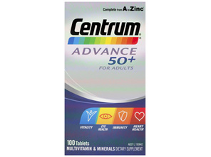 Centrum Advance 50+ Tablets 100s
