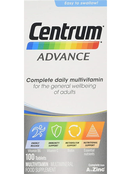 CENTRUM ADVANCE FOR ADULTS 100 PACK