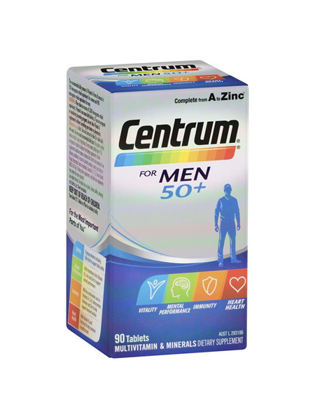 CENTRUM FOR MEN 50+ 90 pack