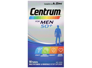 Centrum For Men 50+ 90s