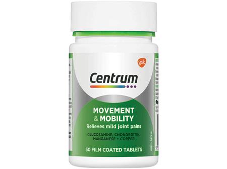CENTRUM Movement &Mobility 50s