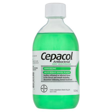 Cepacol Mouthwash Mint 150ml