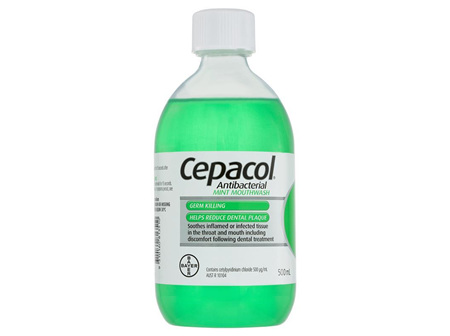 CEPACOL M/Wash Sol. Mint 500ml