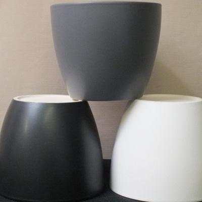 Ceramic container 12.5 x 14.5cm