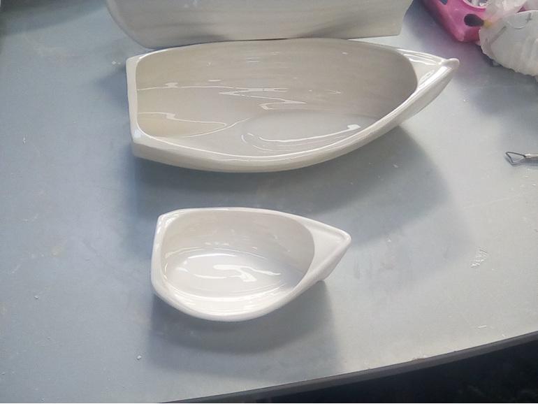 Ceramic Dingy Medium