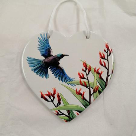 Ceramic Heart - NZ in Flight Tui
