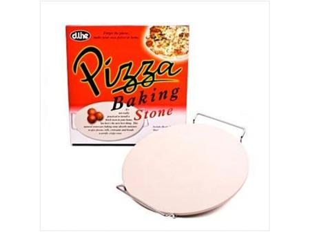 Ceramic Pizza Stone with Rack 33cm