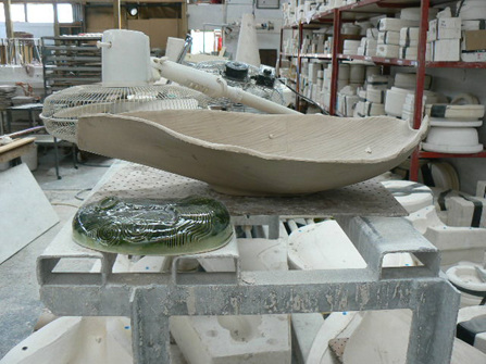 Ceramic studio photo
