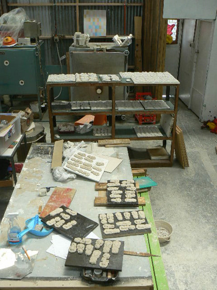 Ceramic studio photo