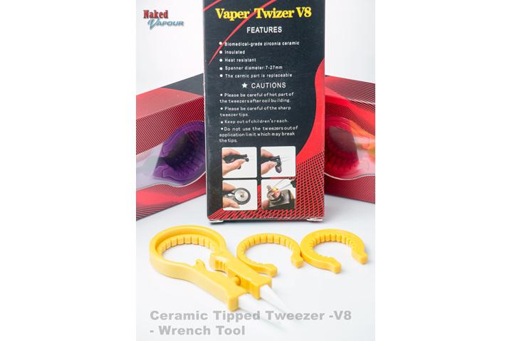 Ceramic Tipped Tweezer -V8 - Wrench Tool