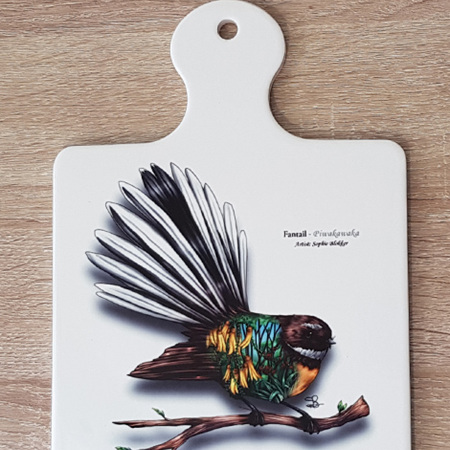 Ceramic Trivet - Fantail