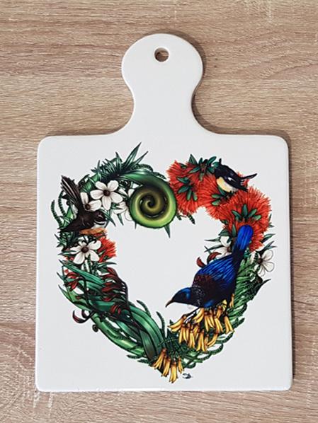 Ceramic Trivet - Heart