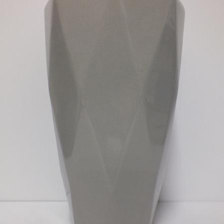 Ceramic vase light grey C3816