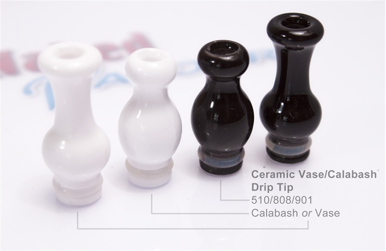 Ceramic Vase or Calabash Drip Tips