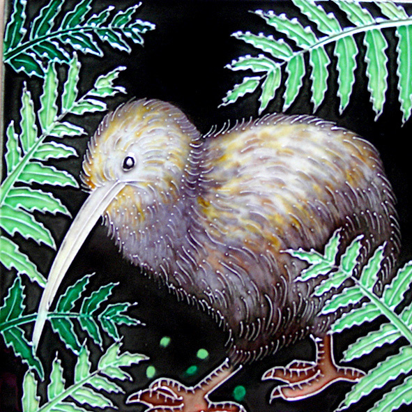 Ceramic Wall Art Kiwi CT51