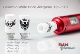 Ceramic Wide Bore Jerrycan Tip - 510