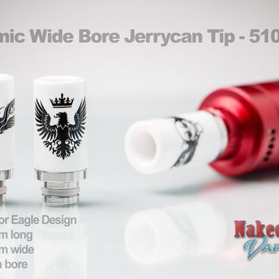 Ceramic Wide Bore Jerrycan Tip - 510