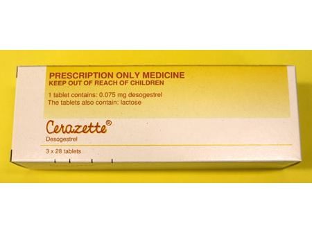 Cerazette 75mcg  Tablets 84s (Desogestrel )