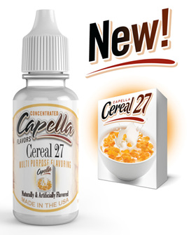 Capella Cereal 27 Flavour Concentrate
